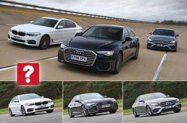 Audi A6 triple