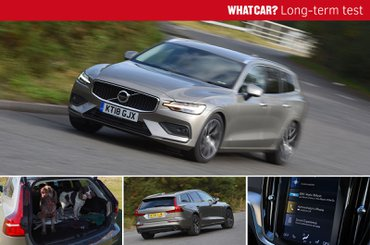 Long-term Volvo V60 compilation