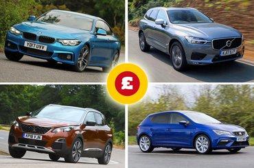 BMW 4 Series, Peugeot 3008, Volvo XC60, Seat Leon