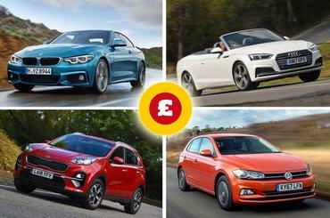 BMW 4 Series, Audi A5 Cabriolet, Kia Sportage, Volkswagen Polo