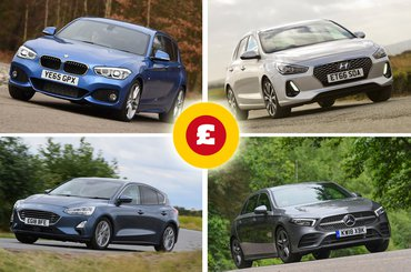 Ford Focus, BMW 1 Series, Hyundai i30, Mercedes-Benz A-Class