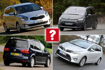 Used MPVs for £10,000
