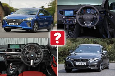 New Hyundai Ioniq vs used BMW 3 Series: which is best?