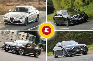 Alfa Romeo Giulia, Mercedes-Benz S-Class, Audi A6, Volkswagen Arteon
