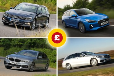 Volkswagen Passat Estate, BMW 5 Series Touring, Hyundai i30 Tourer, Mercedes-Benz C-Class Estate