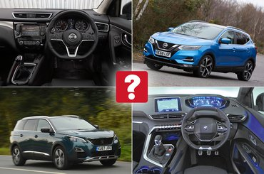 New Nissan Qashqai vs used Peugeot 5008: which is best?