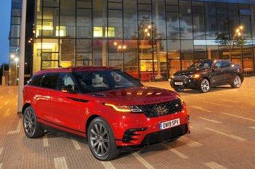 Range Rover Velar vs BMW X6