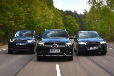 Mercedes GLE vs Audi Q7 vs Land Rover Discovery