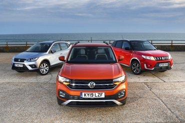 Volkswagen T-Cross vs Seat Arona vs Suzuki Vitara