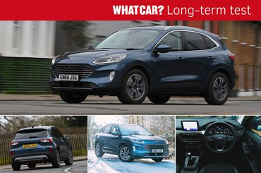 Ford Kuga long-term test template