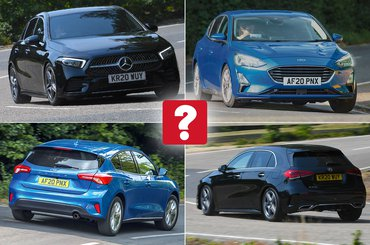New Ford Focus vs used Mercedes A-Class