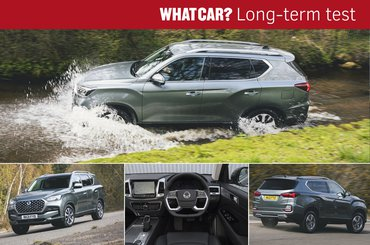 Ssangyong Rexton long-term test review lead graphic