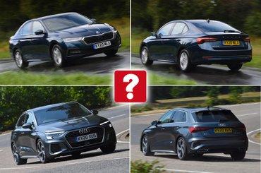 New Skoda Octavia vs used Audi A3