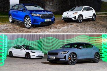 10 best electric car ranges