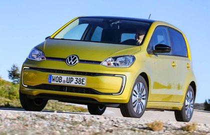 Volkswagen e-Up 2019 LHD front cornering