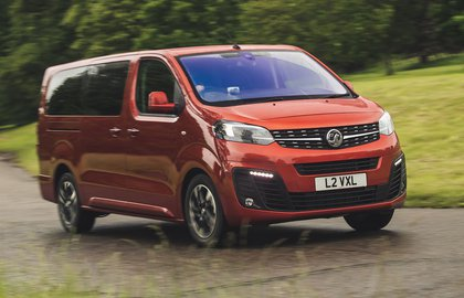 Vauxhall Vivaro-e Life 2020 three quarters tracking