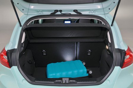 2019 Ford Fiesta boot