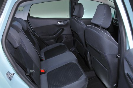 2019 Ford Fiesta rear seats