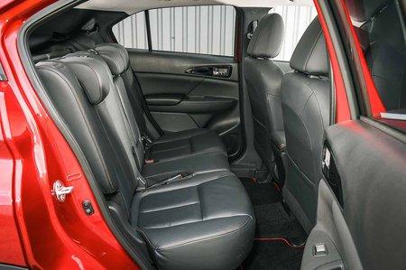 Mitsubishi Eclipse Cross rear seats