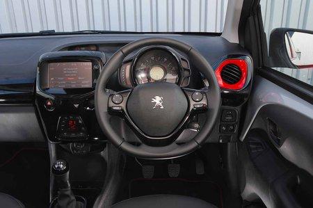 Peugeot 108 2018 RHD dashboard