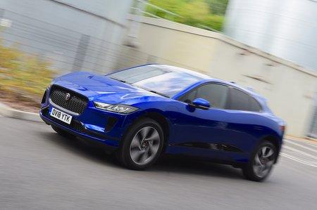 Jaguar I-Pace front