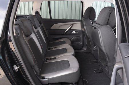 Citroën Grand C4 Spacetourer rear seats