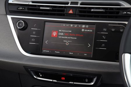 Citroën Grand C4 Spacetourer infotainment