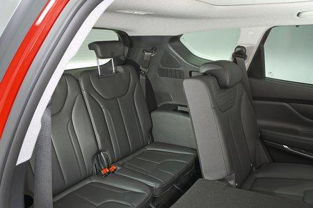 Hyundai Santa Fe third row seats