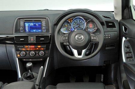 Mazda CX-5 12-17 interior