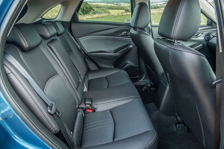 Mazda CX-3 rear seats