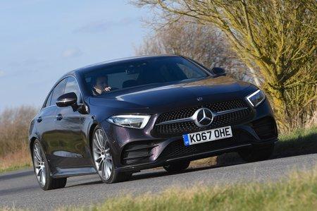 Mercedes CLS cornering