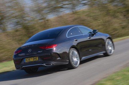 Mercedes CLS rear