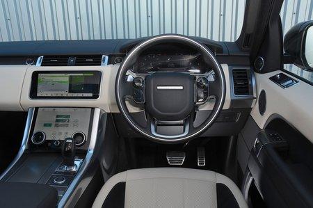 2018 Range Rover Sport dashboard