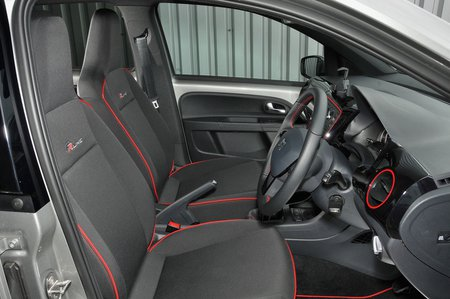 Seat Mii front seats
