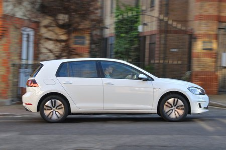Volkswagen e-Golf side