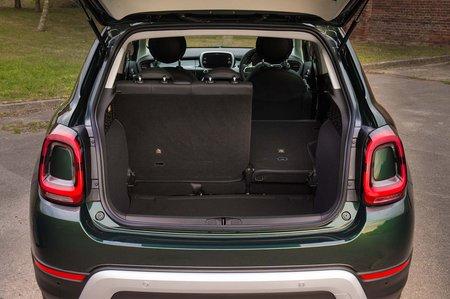 Fiat 500X boot