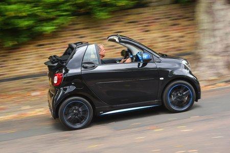 Smart ForTwo EQ Cabrio side profile