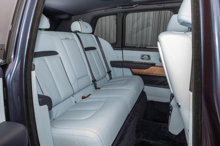 Rolls-Royce Cullinan rear seats