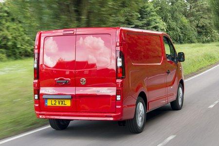 Vauxhall Vivaro rear