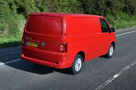 Volkswagen Transporter T6 rear