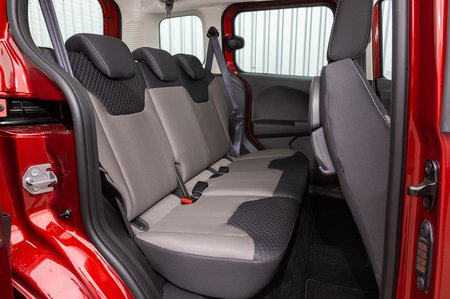 Ford Tourneo Courier rear seats