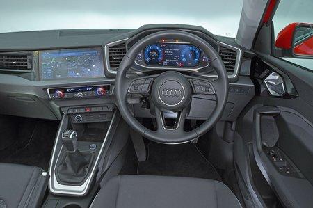 Audi A1 Sportback dashboard