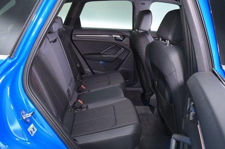 2019 Audi Q3 rear seats