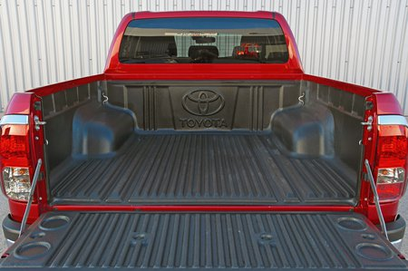 Toyota Hilux bed