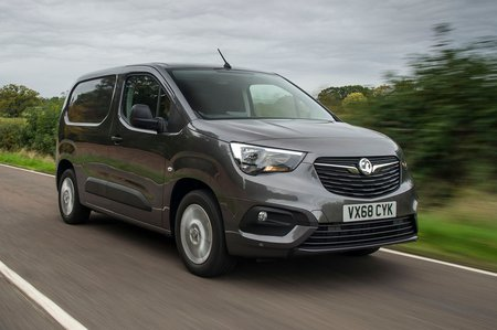 Vauxhall Combo Cargo front