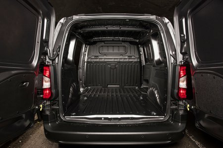 Vauxhall Combo Cargo area