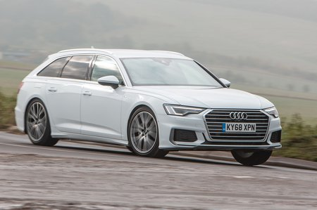 Audi A6 Avant 2019 right front tracking