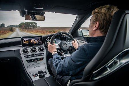 Mercedes-AMG C63 Saloon dashboard