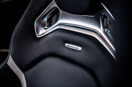 Mercedes-AMG C63 Saloon sports seats