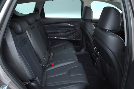 Hyundai Santa Fe 2019 rear seats